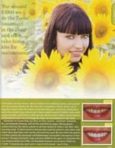 Vogue Magazine Article: August 2006