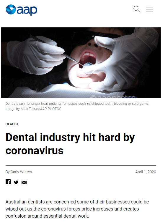 AAP Article Coronavirus - Dr Yvonne King
